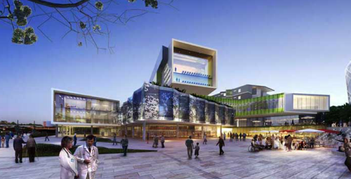Artist's impression of the new Royal Adelaide Hospital